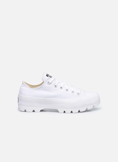 Sneaker Converse Chuck Taylor All Star Lugged Basic Canvas Ox weiß ansicht von hinten