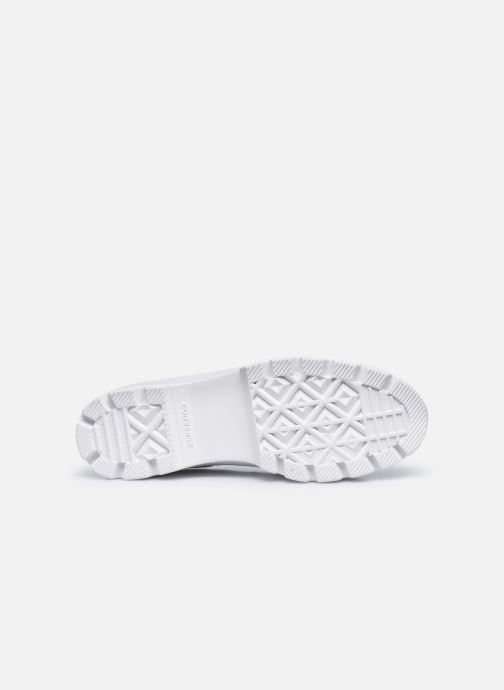 Sneaker Converse Chuck Taylor All Star Lugged Basic Canvas Ox weiß ansicht von oben