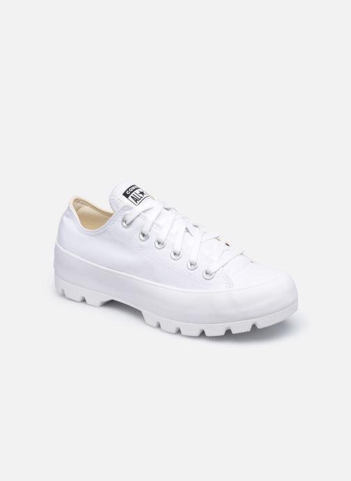 Sneaker Converse Chuck Taylor All Star Lugged Basic Canvas Ox weiß detaillierte ansicht/modell