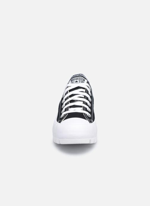 Sneaker Converse Chuck Taylor All Star Lugged Basic Canvas Ox schwarz schuhe getragen