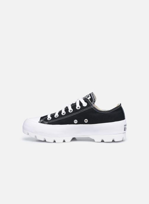 Sneaker Converse Chuck Taylor All Star Lugged Basic Canvas Ox schwarz ansicht von vorne