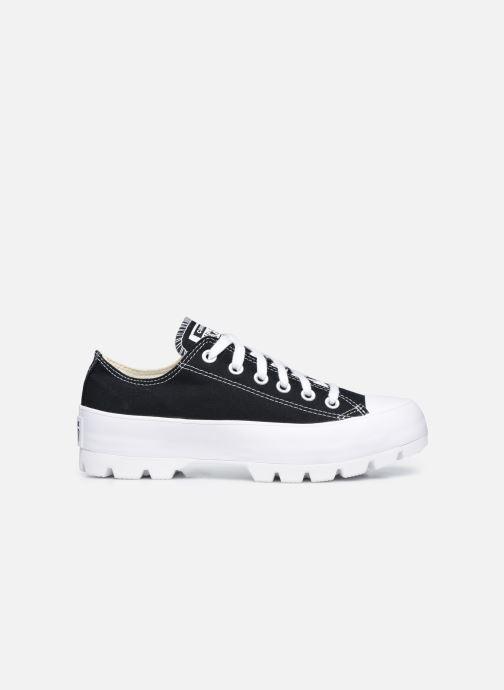 Sneaker Converse Chuck Taylor All Star Lugged Basic Canvas Ox schwarz ansicht von hinten