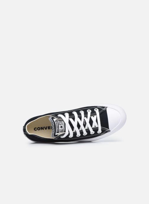 Sneaker Converse Chuck Taylor All Star Lugged Basic Canvas Ox schwarz ansicht von links