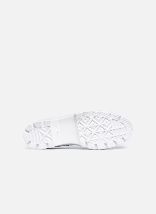 Sneaker Converse Chuck Taylor All Star Lugged Basic Canvas Ox schwarz ansicht von oben