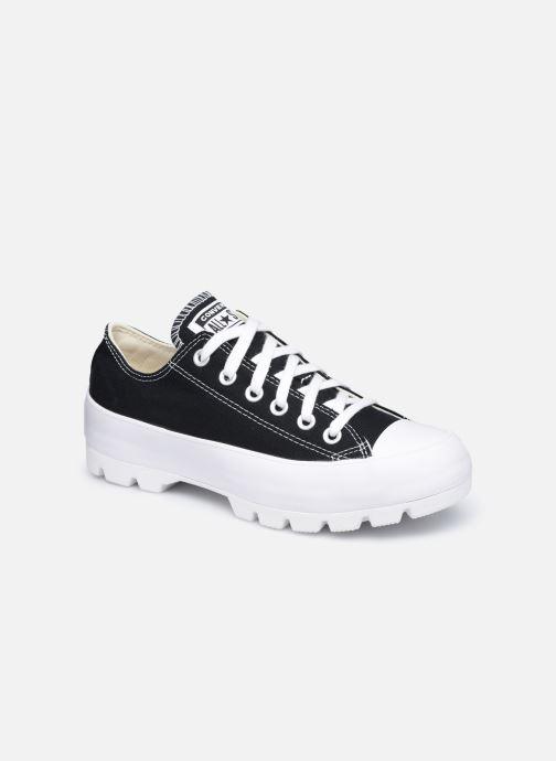 Sneaker Converse Chuck Taylor All Star Lugged Basic Canvas Ox schwarz detaillierte ansicht/modell