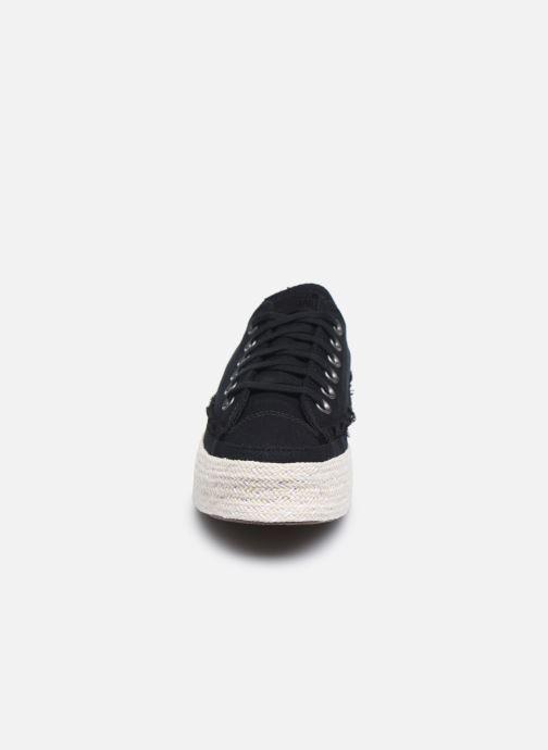 Sneaker Converse Chuck Taylor All Star Espadrille Trail to Cove Ox schwarz schuhe getragen