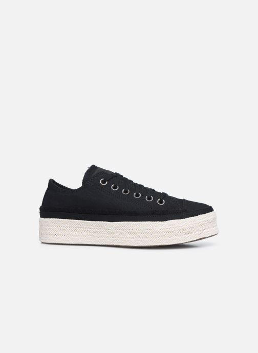Sneakers Converse Chuck Taylor All Star Espadrille Trail to Cove Ox Zwart achterkant