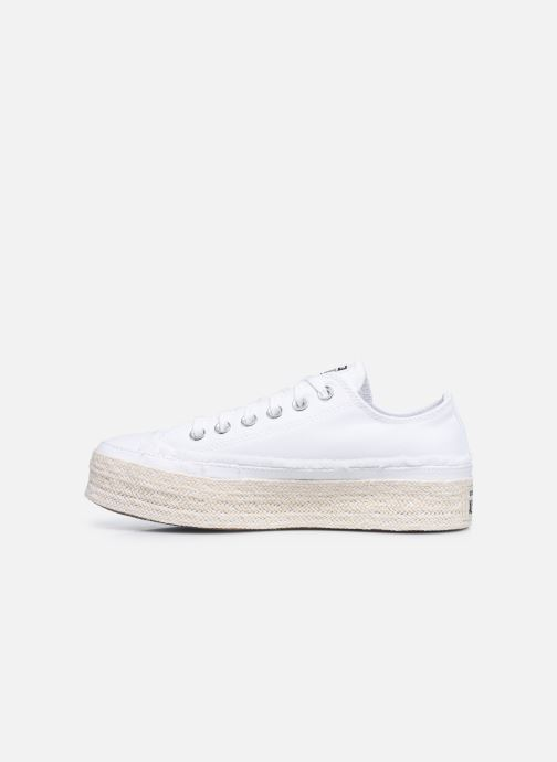 Baskets Converse Chuck Taylor All Star Espadrille Trail to Cove Ox Blanc vue face