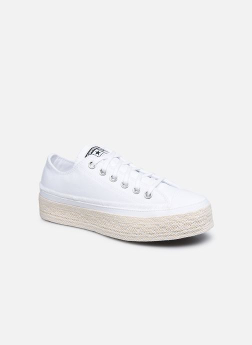 Sneaker Converse Chuck Taylor All Star Espadrille Trail to Cove Ox weiß detaillierte ansicht/modell
