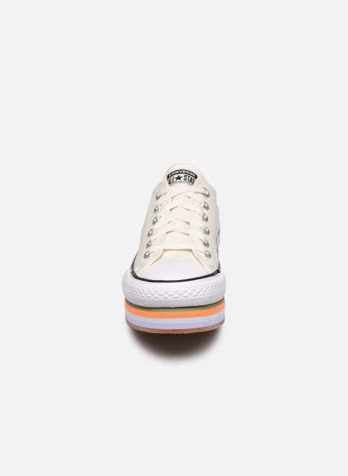 Sneakers Converse Chuck Taylor All Star Platform Layer Sun Blocked Ox Wit model