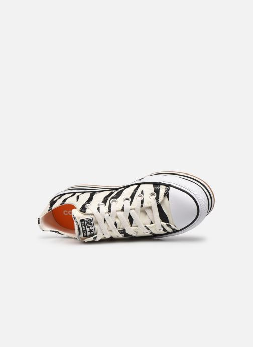 Sneakers Converse Chuck Taylor All Star Platform Layer Sun Blocked Ox Wit links