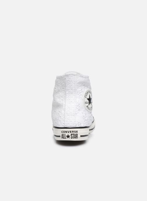 Baskets Converse Chuck Taylor All Star Boho Mix Hi Blanc vue droite