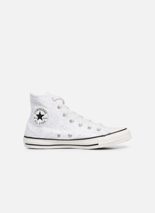 Sneakers Converse Chuck Taylor All Star Boho Mix Hi Wit achterkant