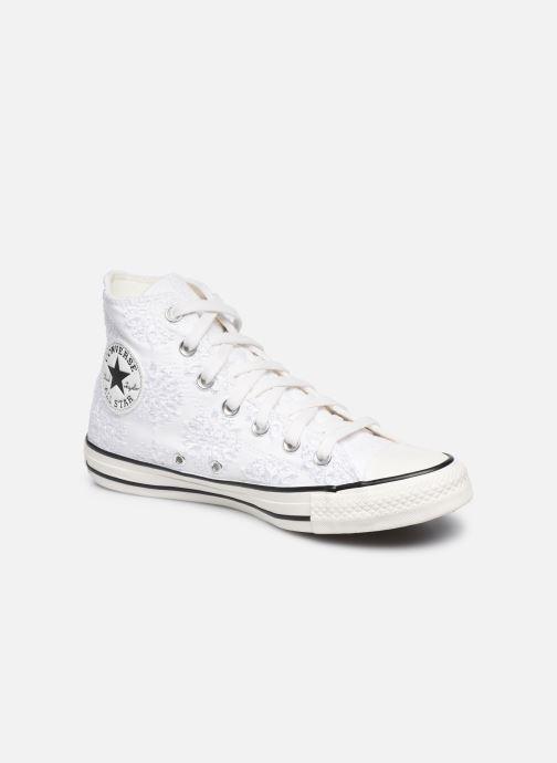 Baskets Converse Chuck Taylor All Star Boho Mix Hi Blanc vue détail/paire