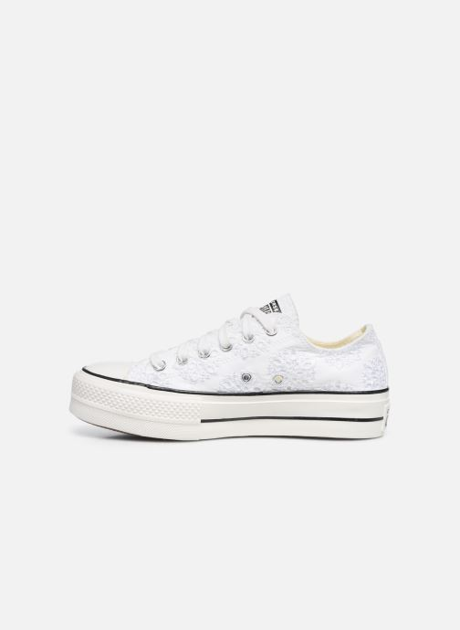 Sneakers Converse Chuck Taylor All Star Lift Boho Mix Ox Wit voorkant