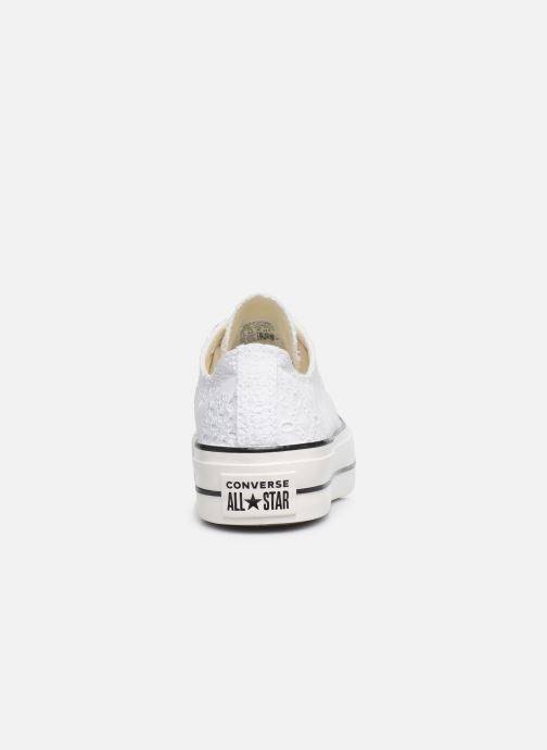 Sneakers Converse Chuck Taylor All Star Lift Boho Mix Ox Wit rechts