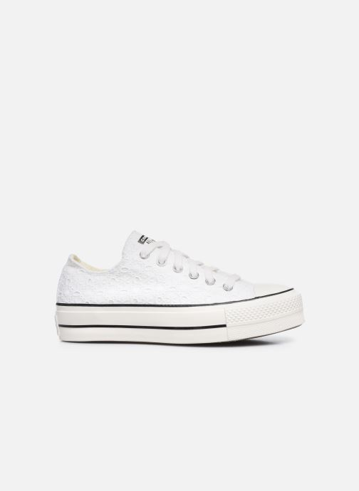 Sneakers Converse Chuck Taylor All Star Lift Boho Mix Ox Wit achterkant