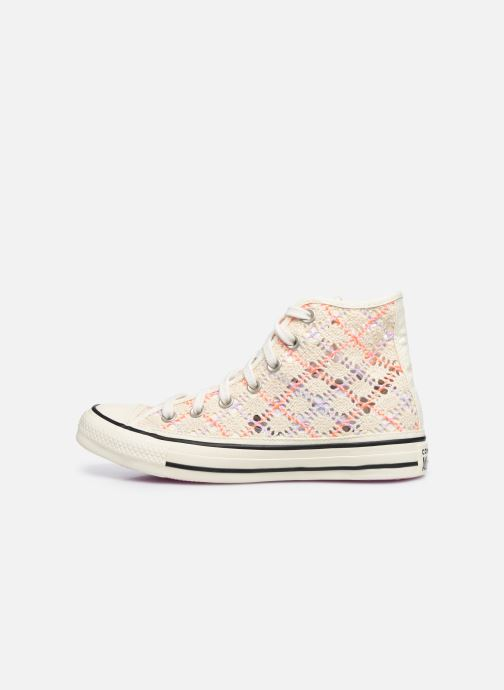 Baskets Converse Chuck Taylor All Star Boho Crochet Hi Multicolore vue face
