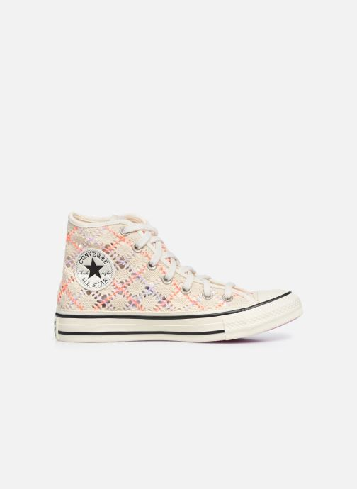 Baskets Converse Chuck Taylor All Star Boho Crochet Hi Multicolore vue derrière