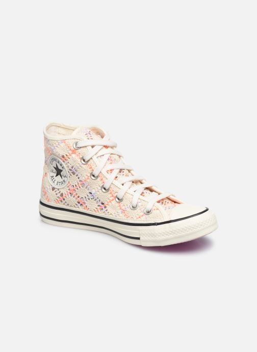 Baskets Converse Chuck Taylor All Star Boho Crochet Hi Multicolore vue détail/paire