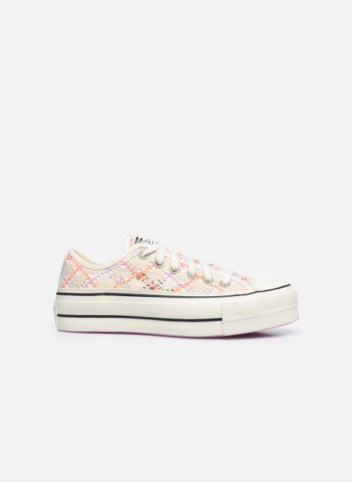 Sneaker Converse Chuck Taylor All Star Lift Boho Crochet Ox mehrfarbig ansicht von hinten