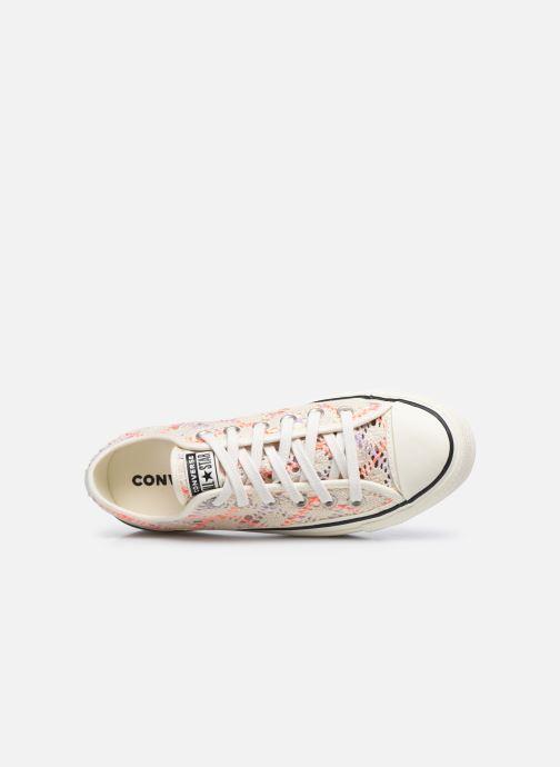 Sneaker Converse Chuck Taylor All Star Lift Boho Crochet Ox mehrfarbig ansicht von links