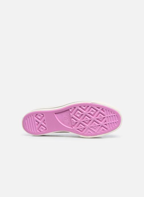 Sneaker Converse Chuck Taylor All Star Lift Boho Crochet Ox mehrfarbig ansicht von oben