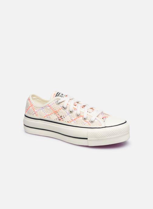 Sneaker Converse Chuck Taylor All Star Lift Boho Crochet Ox mehrfarbig detaillierte ansicht/modell