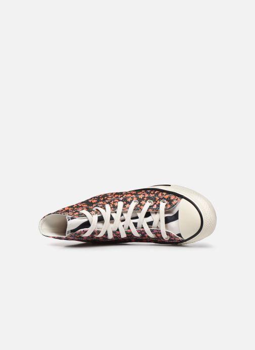 Baskets Converse Chuck Taylor All Star Sunblocked Floral Hi Multicolore vue gauche
