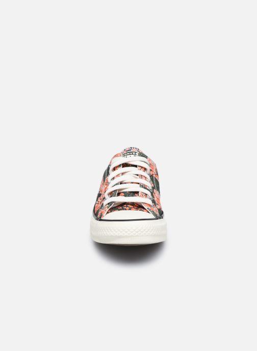 Sneaker Converse Chuck Taylor All Star Sunblocked Floral Ox mehrfarbig schuhe getragen