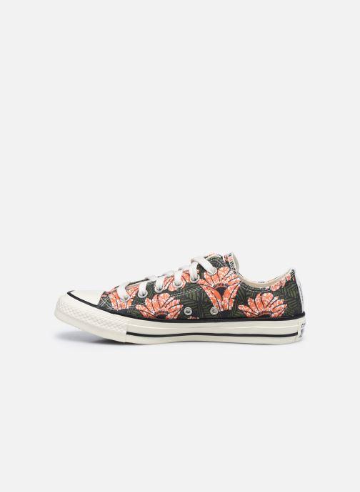 Sneaker Converse Chuck Taylor All Star Sunblocked Floral Ox mehrfarbig ansicht von vorne