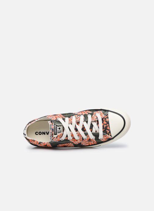 Sneaker Converse Chuck Taylor All Star Sunblocked Floral Ox mehrfarbig ansicht von links