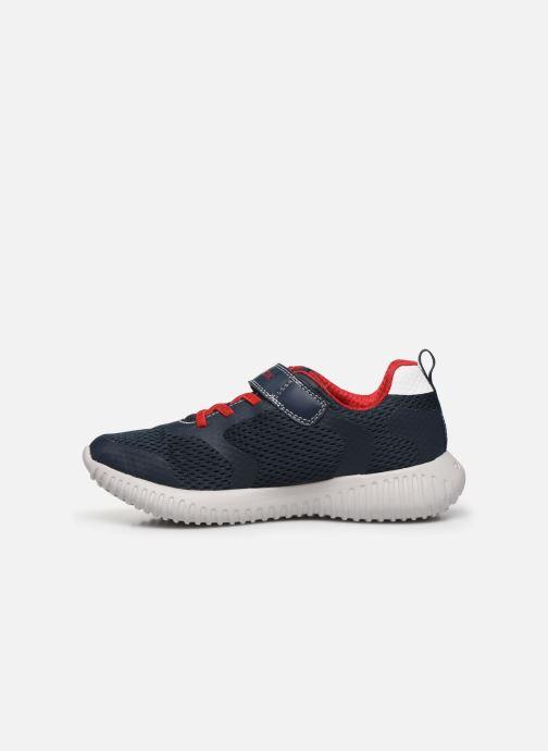 Sneakers Geox J WAVINESS BOY Blauw voorkant