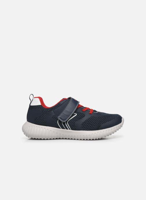 Sneakers Geox J WAVINESS BOY Blauw achterkant
