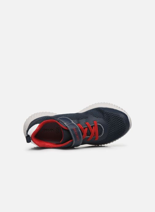 Sneakers Geox J WAVINESS BOY Blauw links