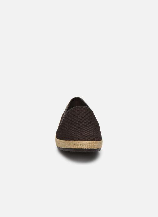 Espadrilles Geox U COPACABANA B - TESS Marron vue portées chaussures