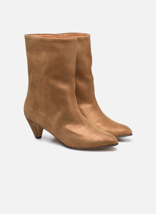 Bottines et boots Anonymous Copenhagen VULLY STILETO 50 Or et bronze vue 3/4