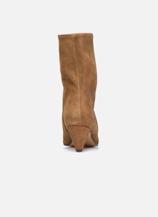 Bottines et boots Anonymous Copenhagen VULLY STILETO 50 Or et bronze vue droite