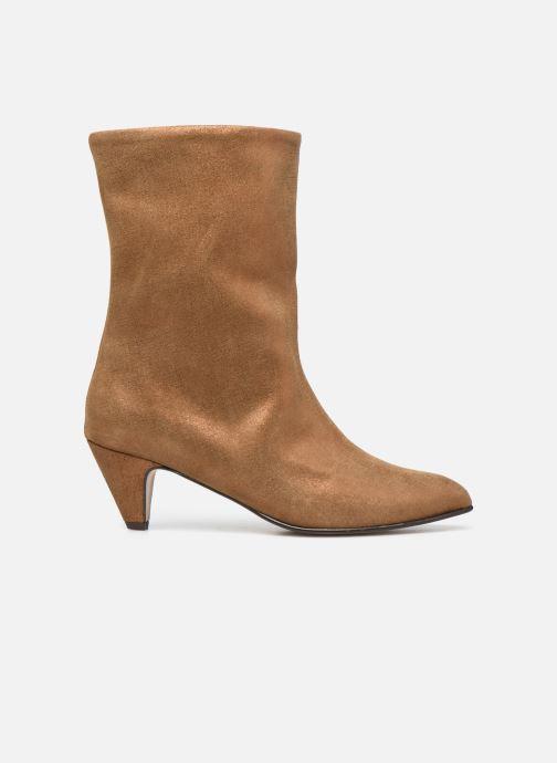 Bottines et boots Anonymous Copenhagen VULLY STILETO 50 Or et bronze vue derrière