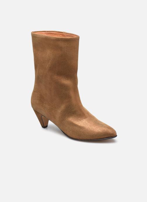 Bottines et boots Anonymous Copenhagen VULLY STILETO 50 Or et bronze vue détail/paire