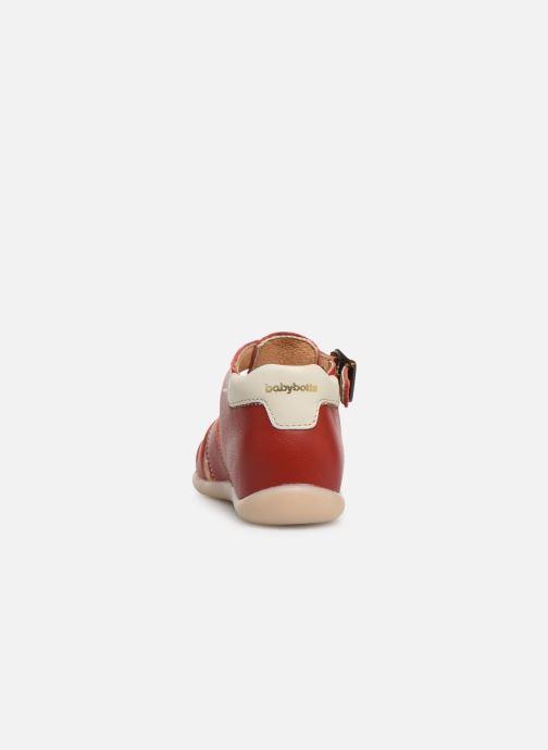 Sandalias Babybotte Gimmy V Rojo vista lateral derecha
