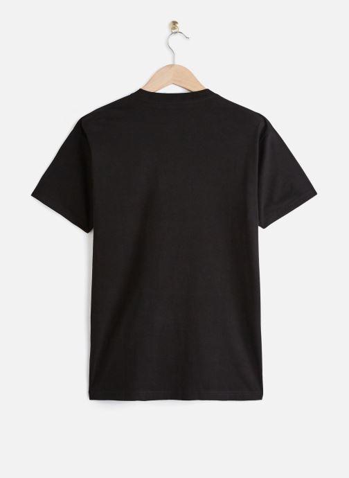 Vêtements Vans CHECK VEE S/S Noir vue bas / vue portée sac