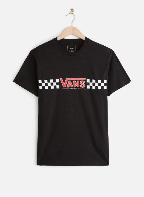 Vêtements Vans CHECK VEE S/S Noir vue détail/paire