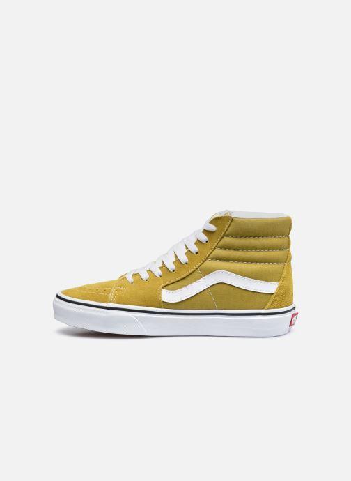 Sneaker Vans UA SK8-Hi gelb ansicht von vorne