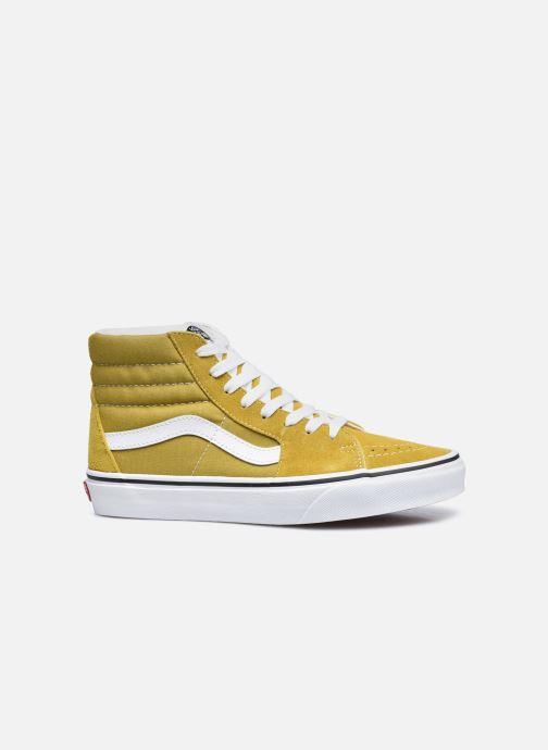 Sneaker Vans UA SK8-Hi gelb ansicht von hinten
