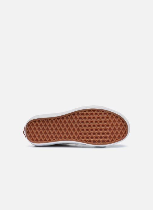 Sneaker Vans UA SK8-Hi gelb ansicht von oben
