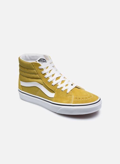 Sneaker Vans UA SK8-Hi gelb detaillierte ansicht/modell