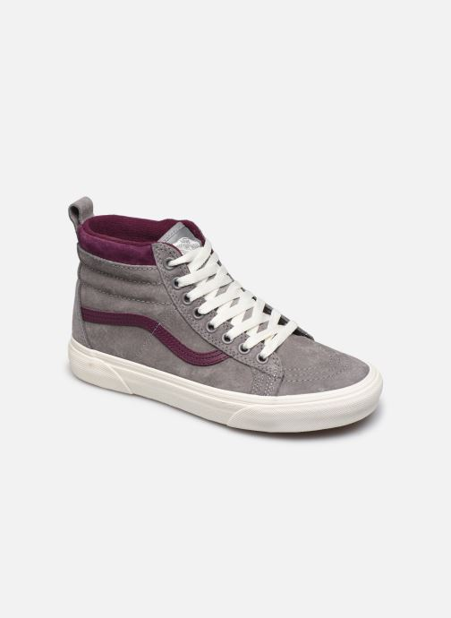 vans blanche trait rouge