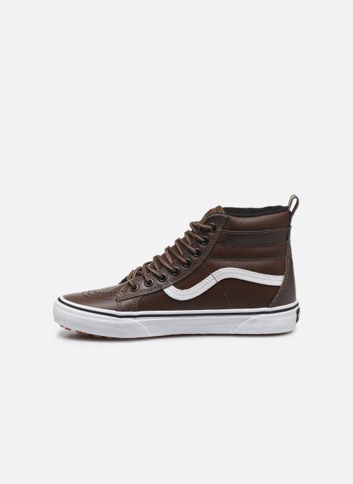 Sneakers Vans UA SK8-Hi MTE W Marrone immagine frontale