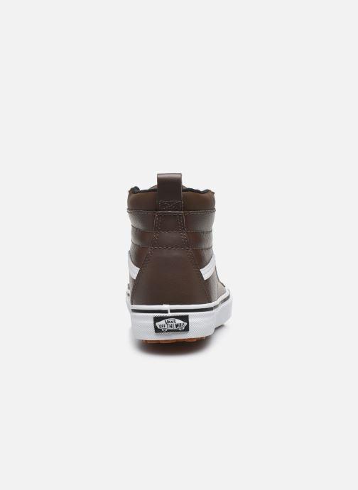 Sneakers Vans UA SK8-Hi MTE W Marrone immagine destra
